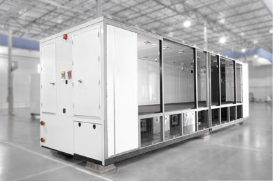 modular data center - cross section