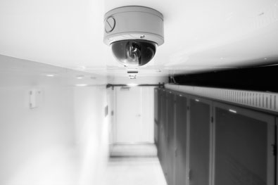 Modular data center baselayer for Interior home security cameras